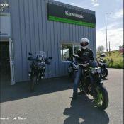 Moto Expert Bourges souhaite bonne route à Loïc