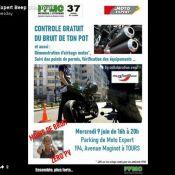 Contrôle Gratuit du bruit chez Moto Expert Tours