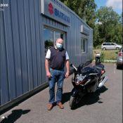 Moto Expert Bourges souhaite bonne route à Yann