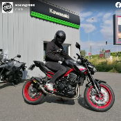 Moto Expert Bourges souhaite bonne route à Maxime