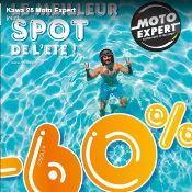 C'est le debut des soldes d'été chez Moto Expert Besançon
