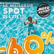 Hop les soldes c'est parti chez Moto Expert Annecy