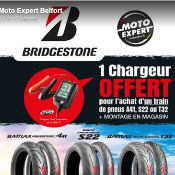 1 chargeur Offert Chez Moto Expert Belfort
