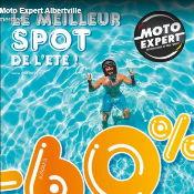 Le Meilleur spot de l'été c'est Moto Expert Albertville