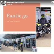 Moto Expert La Rochelle livre une 50cc Fantic
